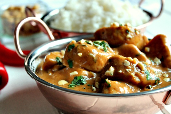 Nutty Chicken Curry