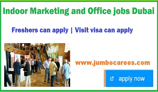 Indoor marketing jobs latest, UAE office jobs May 2018,