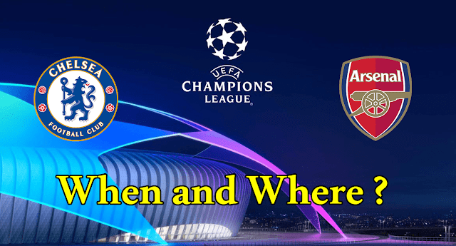 Chelsea and Arsenal in the Europa League Final 2019 UEFA