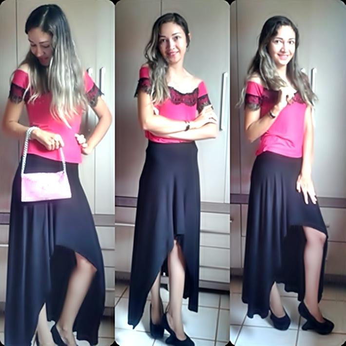 Look do dia, moda, beleza, Lookoftheday, Resenha, Outubro rosa