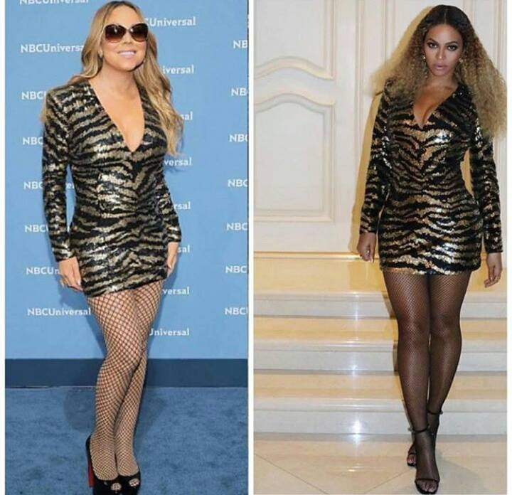 eca432ff063c Bitch Stole My Look! Mariah Carey vs. Beyoncé (photos)
