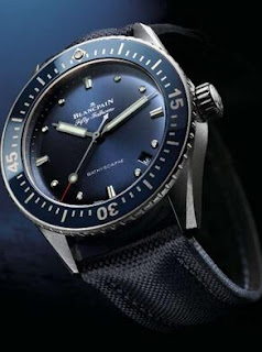 replica Blancpain 38 mm Fifty Fathoms Bathyscaphe