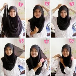 Cara Memakai Hijab Untuk Anak Sekolah