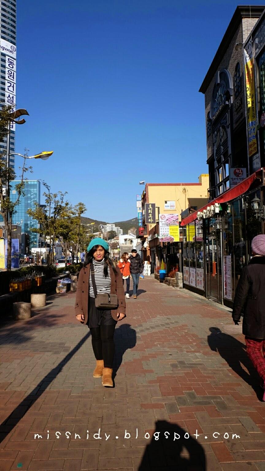 rute menuju haeundae beach busan
