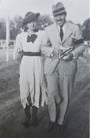 Maria i Mieczysław Wartanowiczowie we Lwowie -  - lata 30' XX w.