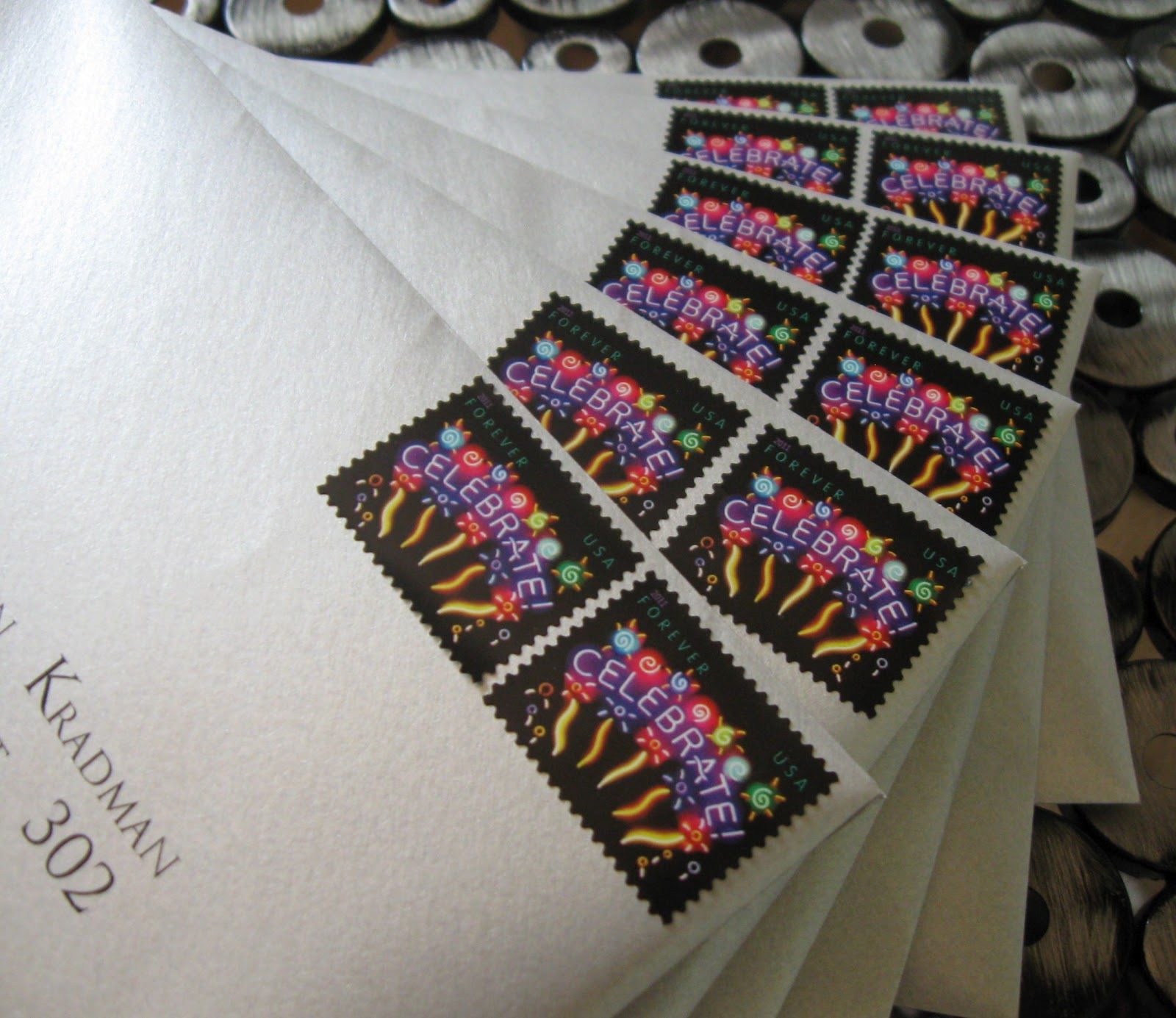 This and That Creations: Coordinating Wedding Stamps USPS