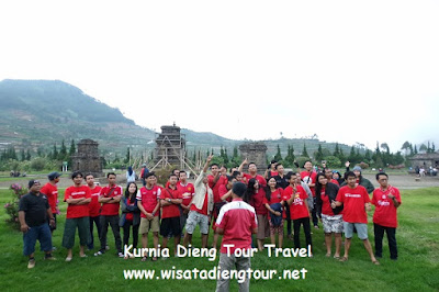 outbound dieng plateau wonosobo