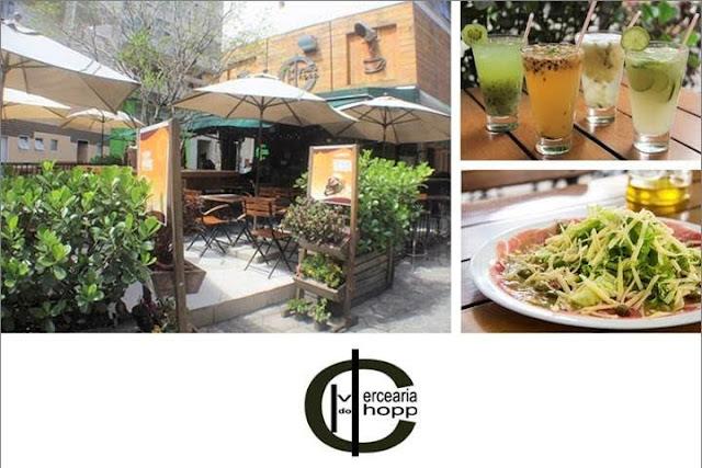 Mercearia do Chopp é opção descontraída para almoço e Happy Hour em SP
