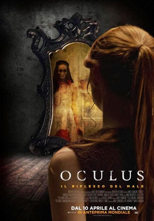 Nouvelle affiche du film d 39 horreur oculus actu film for Miroir film horreur