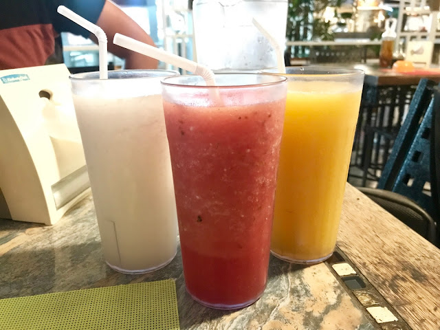 Matam-ih Authentic Kapampangan Cuisine Clark Review - fruit shakes