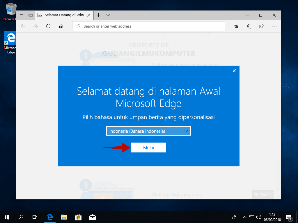 Tutorial Lengkap Instal Windows 10