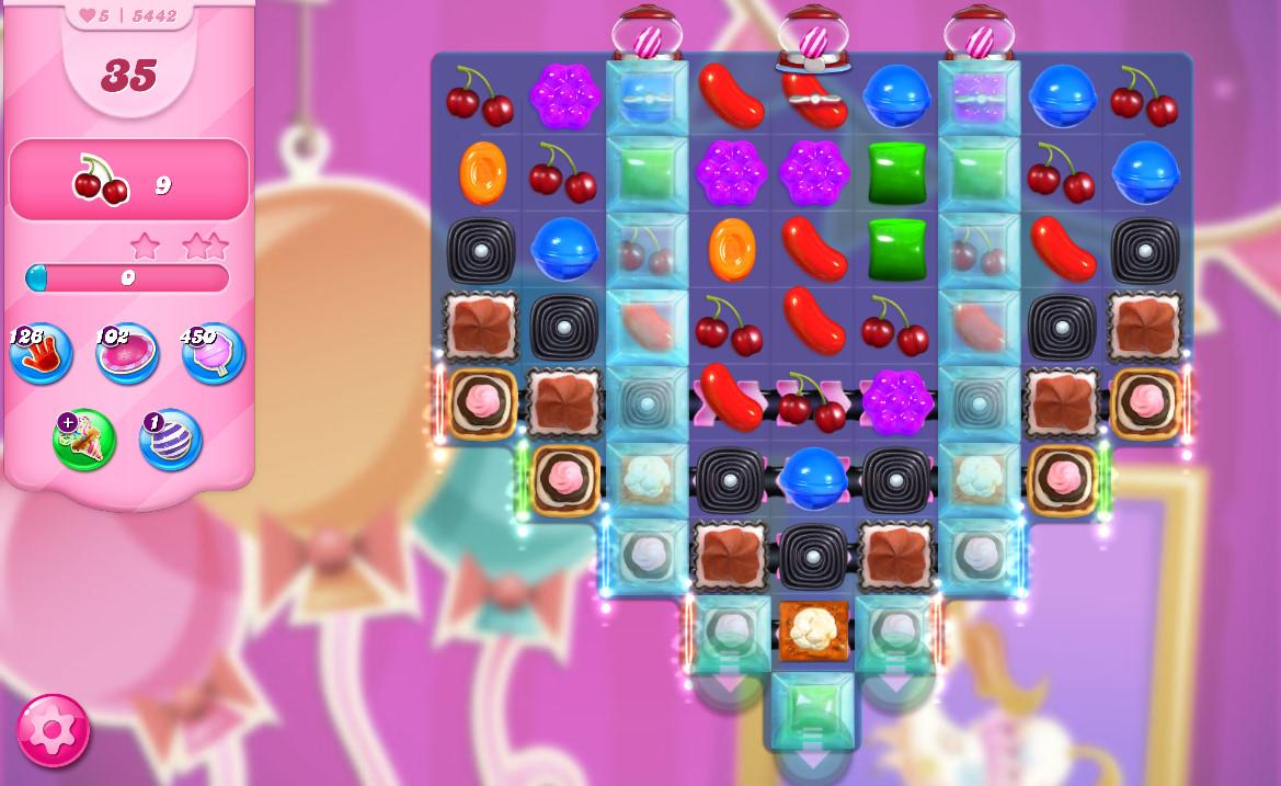 Candy Crush Saga level 5442