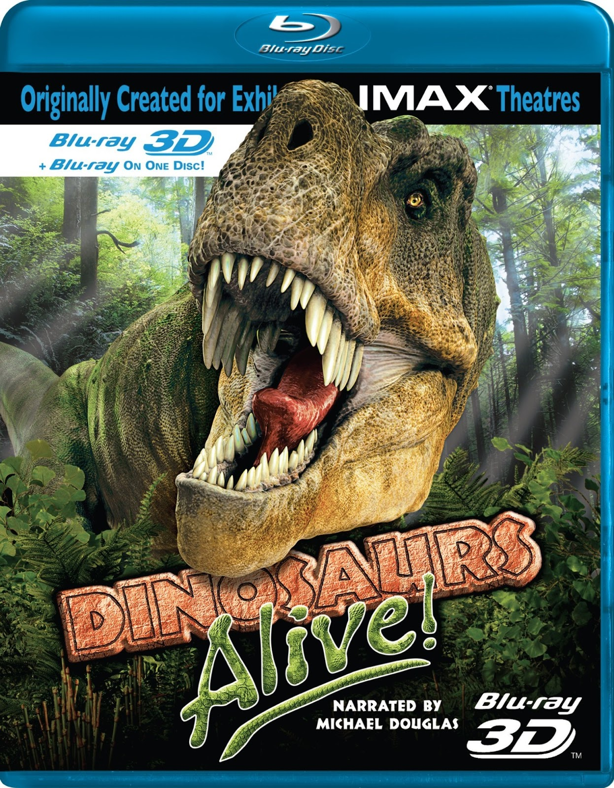 IMAX: Dinosaurs Alive! [BD25] [3D] [2007] [Latino]