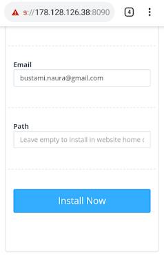Cara Install Wordpress di CyberPanel