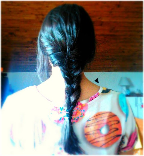 Mixed Braided Hairstyle