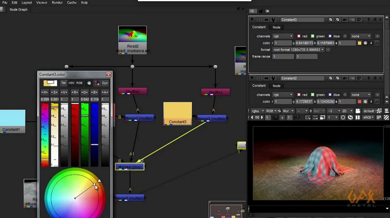 Maya Nuke Tutorial: HDR RGB Light Pass Workflow | CG TUTORIAL