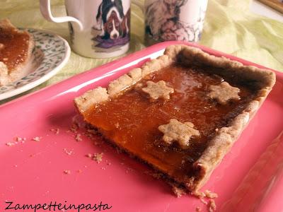 Crostata vegana con marmellata - Pasta frolla vegana