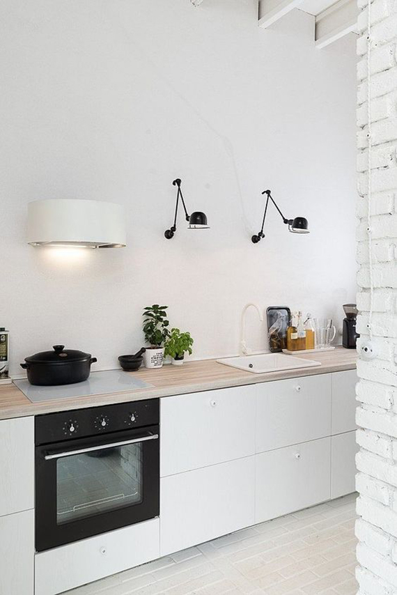 Ordinaire Swing Arm Lamps In The Kitchen | Oooox