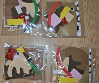 Reindeer gift bag kits review