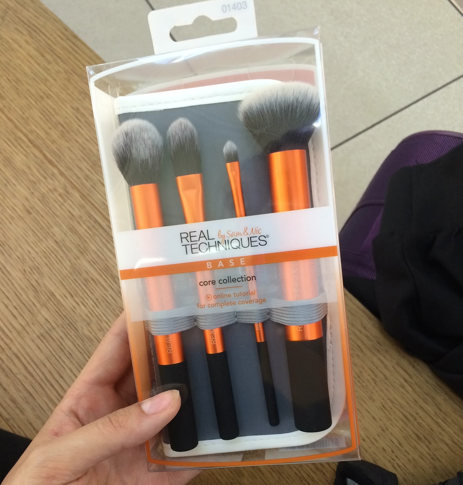 Real Technique make-up brushes from Boots