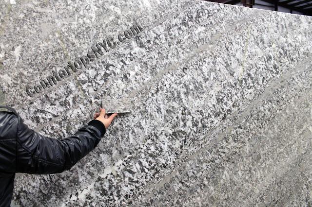 Granite and marble slabs samples