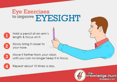 Exercises to improve eyesight naturally, healthy eyes