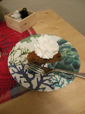Applesauce Spice Chocolate Chip Cake