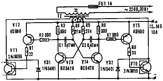 Cara membuat konverter voltase 12 220 v elektronika analog konverter ini bisa memasok lampu listrik setrika solder pembuat kopi dan peralatan listrik lainnya yang bentuknya tidak beraturan dari segi empat ccuart Images