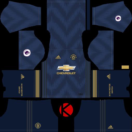 Manchester United 2018/19 Kit