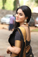 Poorna in Cute Backless Choli Saree Stunning Beauty at Avantika Movie platinum Disc Function ~  Exclusive 016.JPG