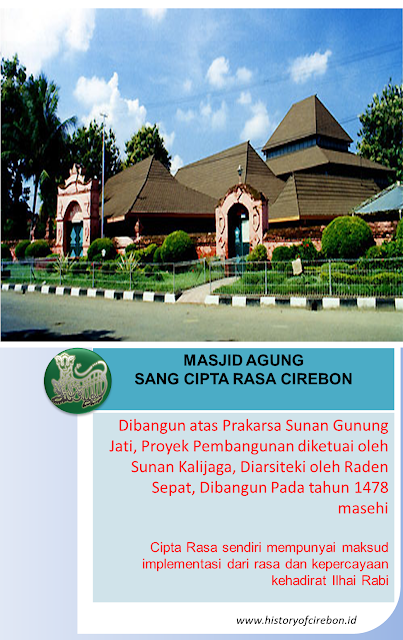 Sejarah Masjid Agung Sang Cipta Rasa Cirebon