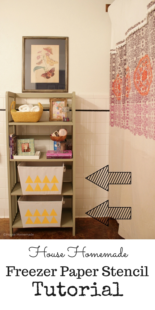 Freezer Paper Fabric Painting | House Homemade