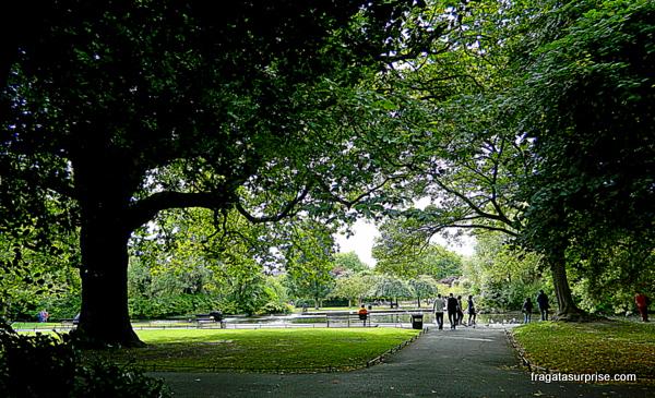 St Stephen's Green, parque público em Dublin