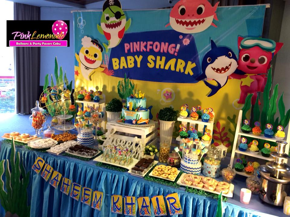 Pink Lemonade Balloons And Party Favors Cebu Baby Shark