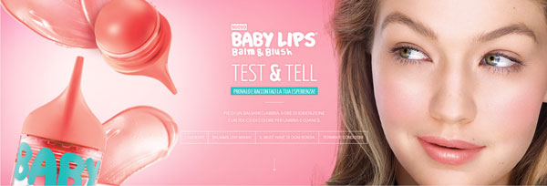 maybelline baby lips balm and blush test and tell