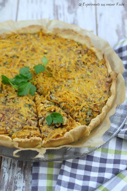 Experimente aus meiner Küche: Süßkartoffel-Walnuss-Tarte