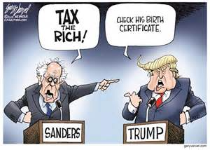 Bernie sanders blasts Donald Trump's billionaire Cabinet   NASTY JACK