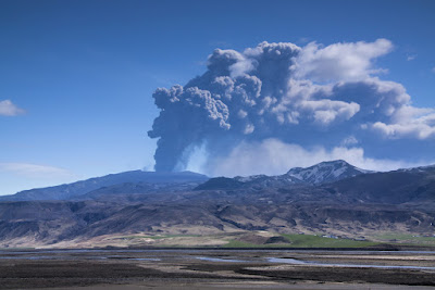 Eyjafjallajokull volcano eruption, Iceland 2010