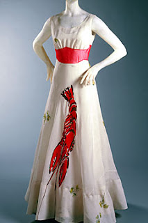 Twirling Clare Lobster Dress