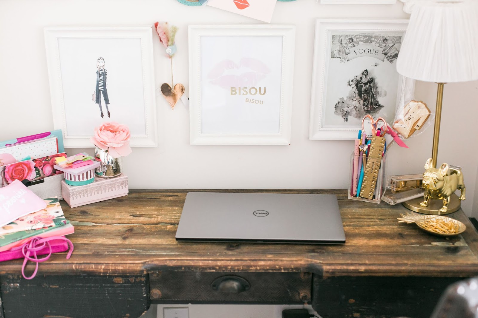 Bijuleni - 5 Cheap Ways to Make Your Desk Area Look Pretty