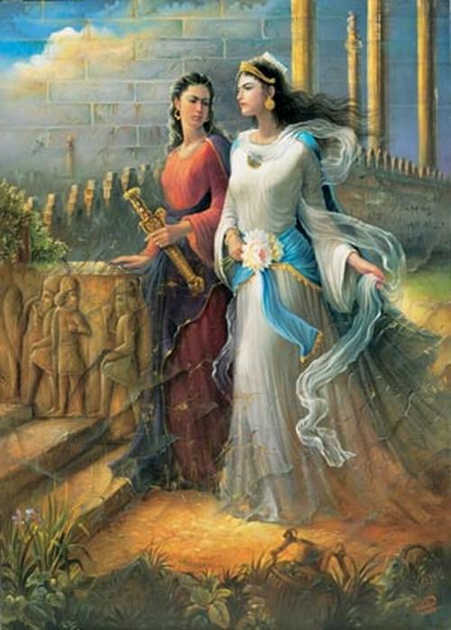 Queen Vashti Refused to Appear Before King Ahasuerus