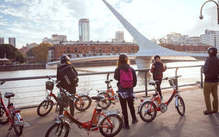 bicis electricas tour buenos aires