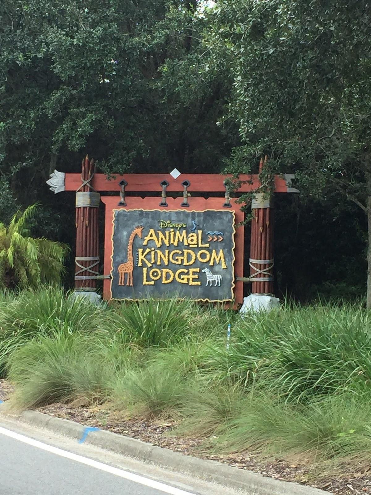 Visit to Animal Kingdom Lodge
