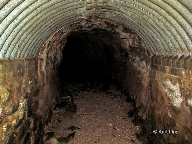 One of many drainage tunnels that run beneath the Road To Nowhere.
