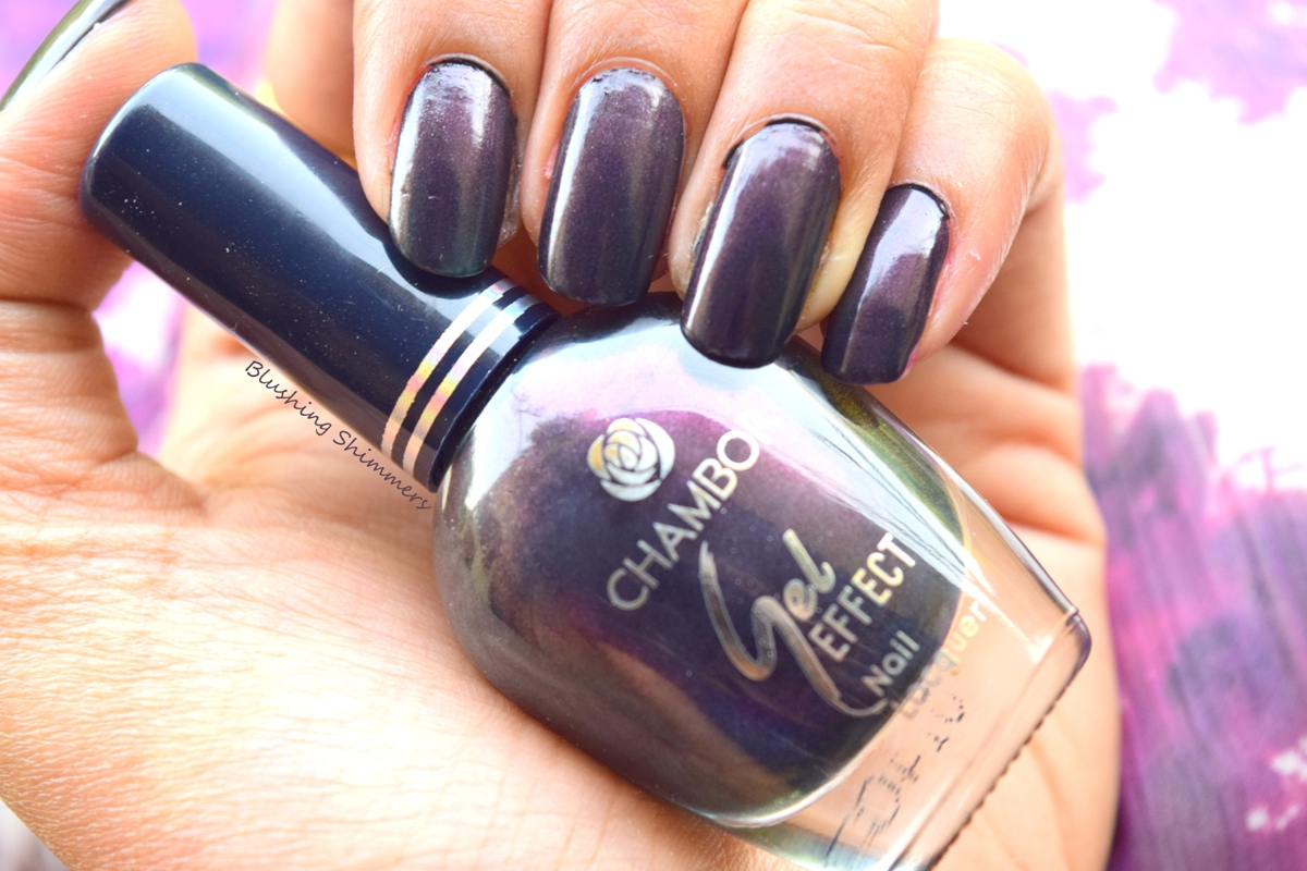 Chambor Gel Effect Nail Paint- 606