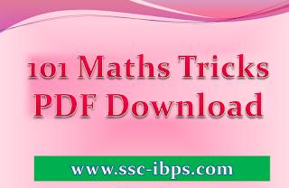 101 Maths Tricks PDF Download