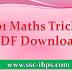 101 Maths Tricks PDF Download Simple Mathematics Tricks PDF