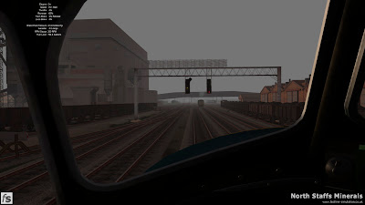 Fastline Simulation - North Staffs Minerals: At the controls of a Peak passing Etruria Gas Works in North Staffs Minerals a route for RailWorks Train Simulator 2012.