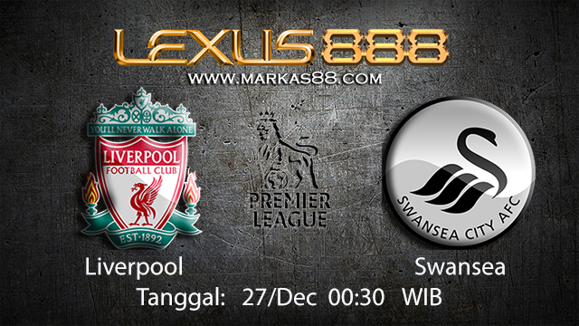 PREDIKSIBOLA - PREDIKSI TARUHAN BOLA LIVERPOOL VS SWANSEA 27 DESEMBER 2017 ( ENGLISH PREMIER LEAGUE )