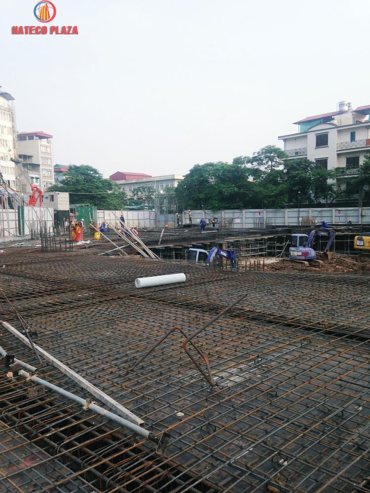 Tiến độ xây dựng Hateco Plaza
